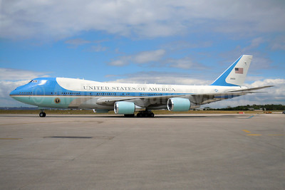 United States of America (U.S. Air Force) Boeing VC-25A (747-2G4B) 28000 (82-8000) (msn 23824) ORY (Pepscl). Image: 906546.
