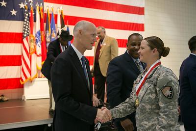 4-7-2016 Ceremonial Bill Signing/Veterans Medals