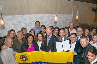4-3-18 Orlando Venezuela Bill Signing Ceremony
