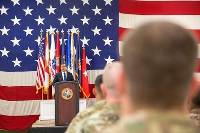 4-6-18 Miami Florida National Guard Departure Ceremony