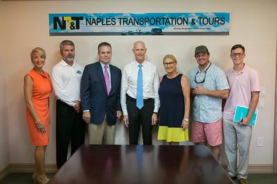8-22-2016 Naples Transportation & Tours Visit
