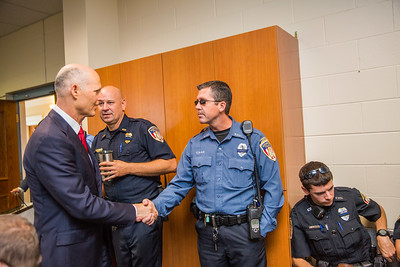 8-31-2017 Visit to Kissimmee Police Department