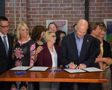 7-30-2015 Tampa - Anti Human Trafficking Bill Signing