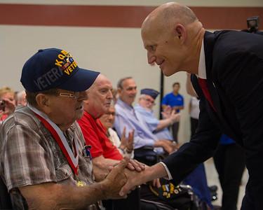 6-25-2015 St. Augustine - Veterans Medal Ceremony