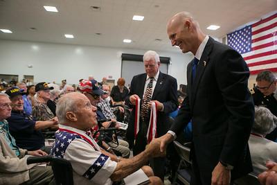 6-07-2016 Crystal River - Veterans Medals Ceremony