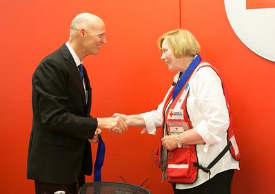 6-29-2016 Orlando Red Cross Visit