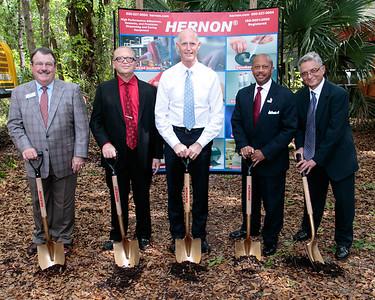 3-12-2015 Sanford - Hernon Ground Breaking
