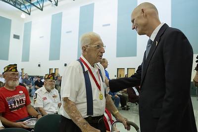 3-01-2016 St Petersburg Veterans Medal Ceremony
