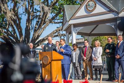 3-23-2018 Ground Breaking Ceremony of Hilton Garden Inn in Ocala