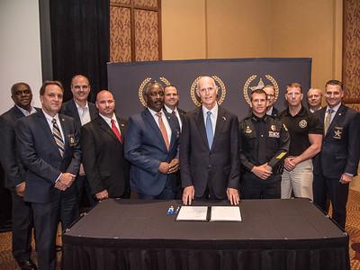 5-25-2017 Orlando Counter Terrorism& HB 457 Bill Signing