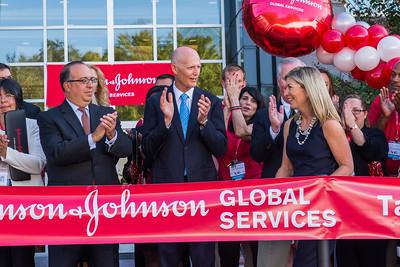10-19-2016 Johnson & Johnson Ribbon Cutting- Tampa