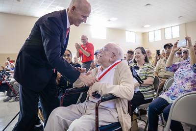 10-31-2016 Fort Myers Veterans Medal Ceremony