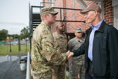 10-6-2016 Visit with National Guard Members - Sanford