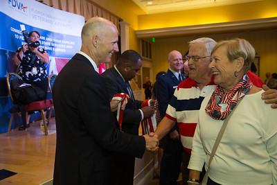 9-11-2015 Villages Veterans Medal Ceremony