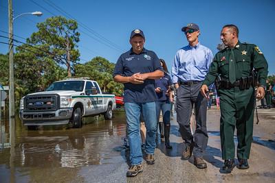 9-12-2017 Ground Tour of Hurricane Irma Impacts in Bonita Springs