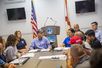 9-20-2017 Hurricane Irma Recovery Briefing at Marathon Government Center