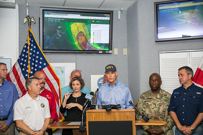 9-8-2017 Hurricane Irma Briefing at South Florida Water Management District