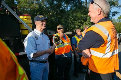 9-8-2016 Hurricane Hermine Work Day