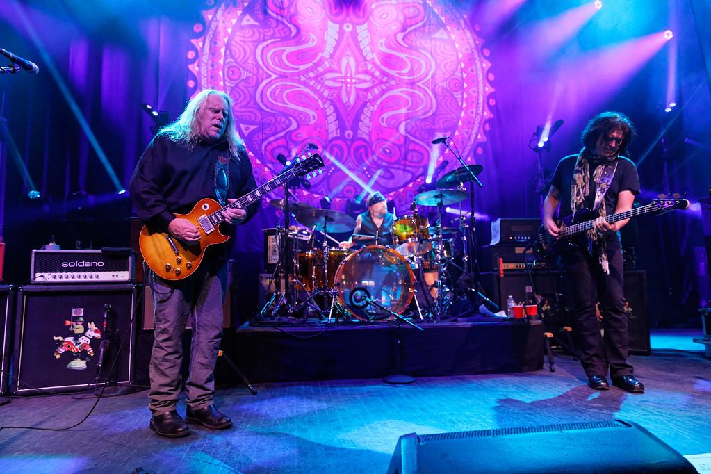 . Gov\'t Mule live at Fillmore Detroit on 10-12-17. Photo credit: Ken Settle