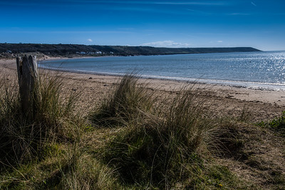 Port Eynon beach