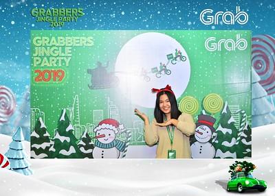 Grab   Grabbers Jingle Party 2019 instant print photo booth in Ha Noi   Chụp ảnh in hình lấy ngay Tiệc Giáng Sinh tại Hà Nội   Photobooth Hanoi