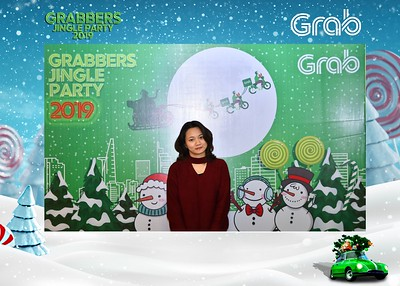 Grab | Grabbers Jingle Party 2019 instant print photo booth in Ha Noi | Chụp ảnh in hình lấy ngay Tiệc Giáng Sinh tại Hà Nội | Photobooth Hanoi