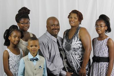 Troy and Valerie Henson Tyree, Diamond, Kyla, Troy