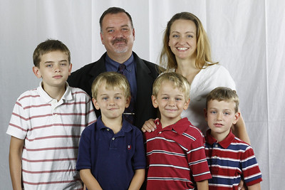 Pastor Jack and Heather Hunt Daniel, Nathan, Jonathan, Josiah