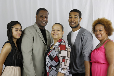 Pastor Irv and Toni Clark II Ana, Trey, Tanea