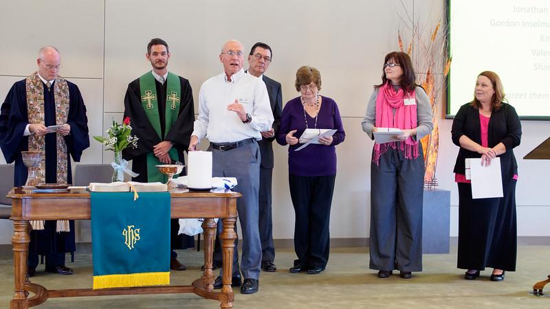 Grace Church - New Members - Nov 9, 2014