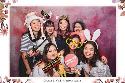 Grace Sia's Birthday | © www.SRSLYPhotobooth.sg
