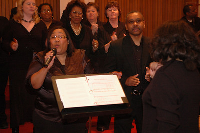 Choir Concert-Celebration of Black History, February 17, 2008