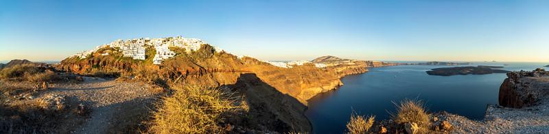 Skaros Rock: Imerovigli and the South of Santorini