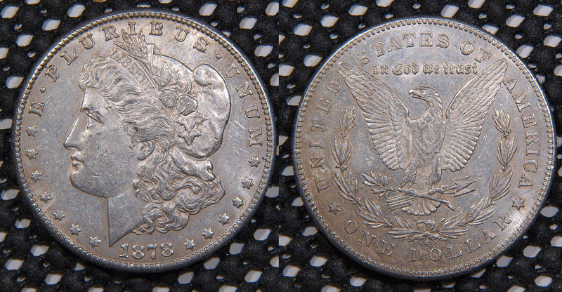 1878 S Morgan<br /> AU, VAM 2 (broken R in trust, open G in God)<br /> $49<br /> <br /> contact me at leo78256@yahoo.com