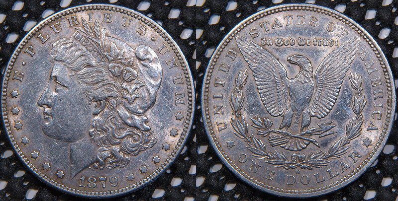 1879 O, XF-45 to AU-53<br /> <br /> $41<br /> <br /> contact me at leo78256@yahoo.com