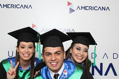 Graduación Universidad Americana 2016