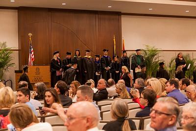 Graduate Hooding Ceremony 2017