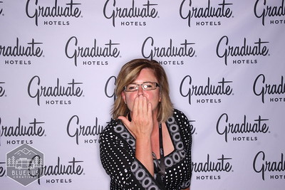 Celebrating the Graduate Hotel with a launch party for last month's Business After Hours. Thanks to the Eugene Chamber for putting on a great event!  If you would like more info on having a Photo Booth at your next event head over to www.bluebuscreatives.com