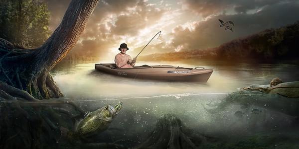 Gone Fishing Main Template