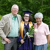 Julia with grandparents 1