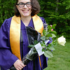 Julia graduation pose 3