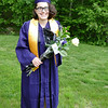 Julia graduation pose 1