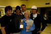 Nichole Ruske winner of the Presidents Cup (Graduating class 2008) surrounded by her friends.