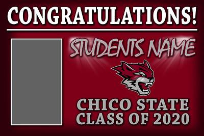 chico state graduation banner jpg