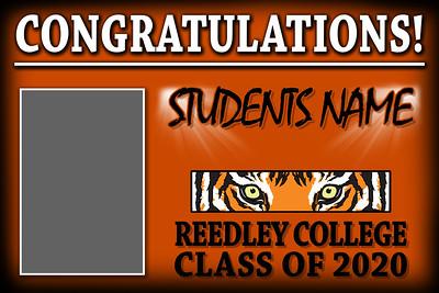reedley college graduation banner jpg