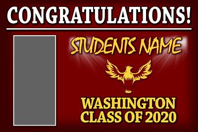 washington graduation banner jpg