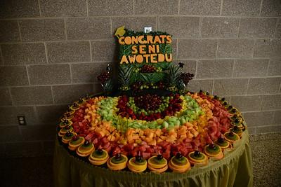 graduation party for seni awotedu