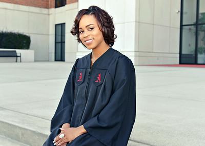 Brittany Tuck's Graduation Portraits