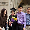 Pianist Vivian Cheng and her family