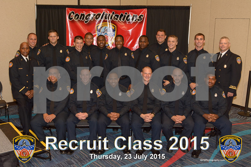 Fire Fighters Class of 2015